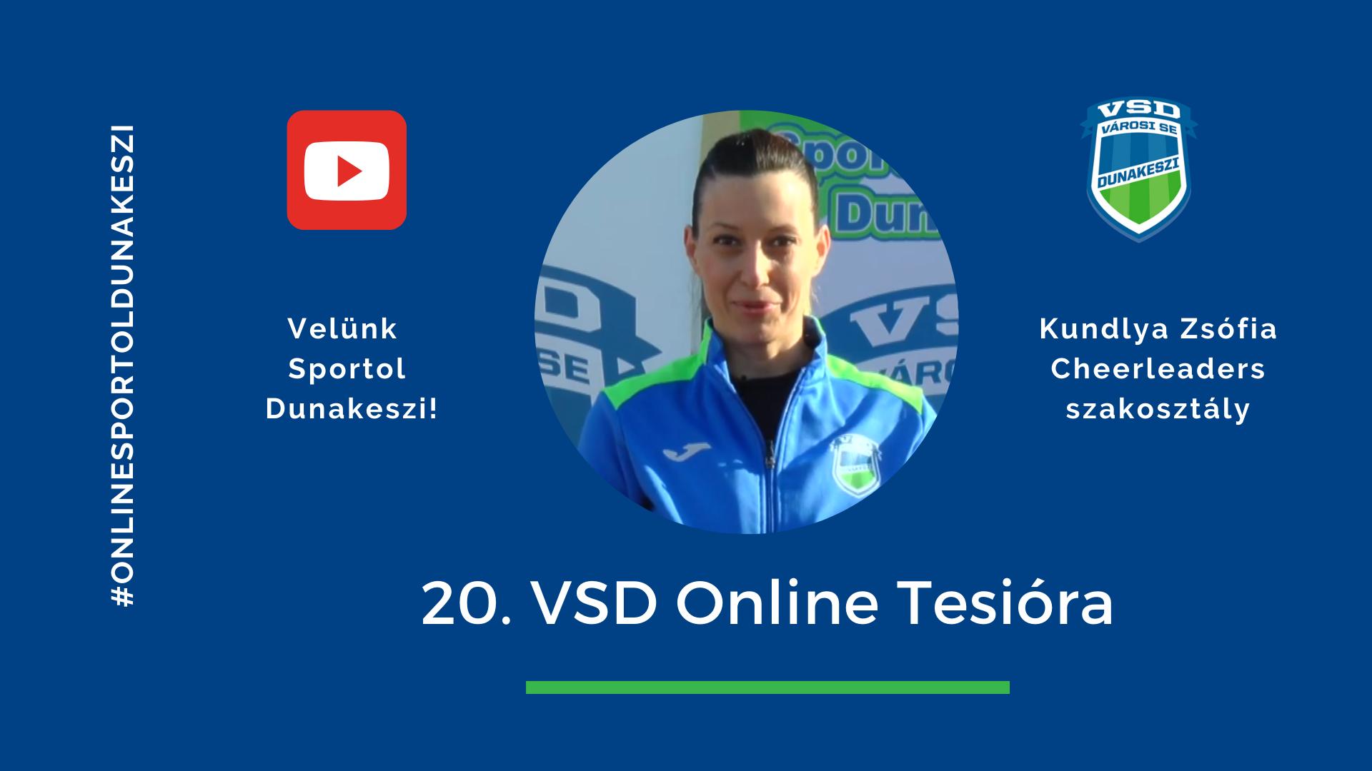 VSD Online tesi Cheerleaders